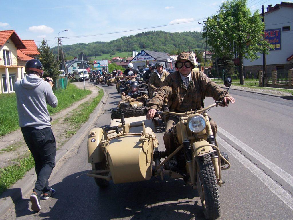 Zlot Motocykli Zundapp i BMW