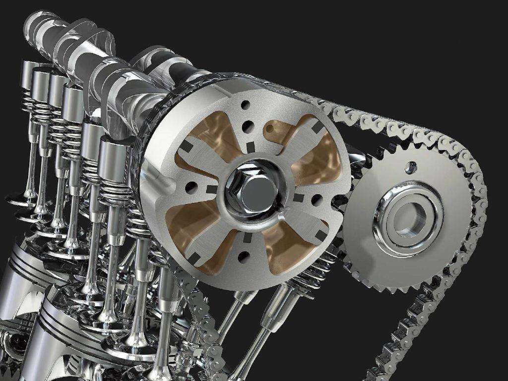Zmienne fazy rozrządu to jeszcze jeden sposób na podwyższanie momentu w dolnym zakresie obrotów silnika.