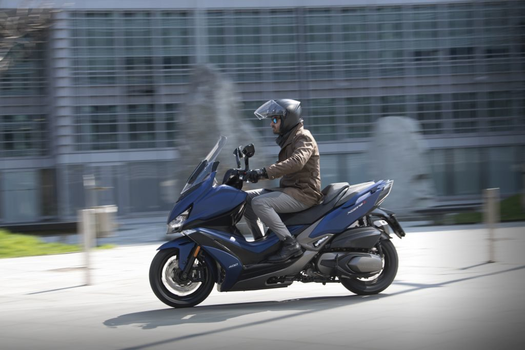 Nowy Kymco Xciting 400S