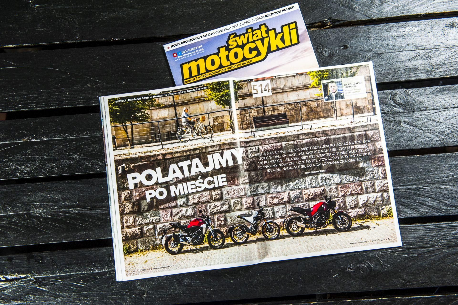 Towarzyskie motocykle