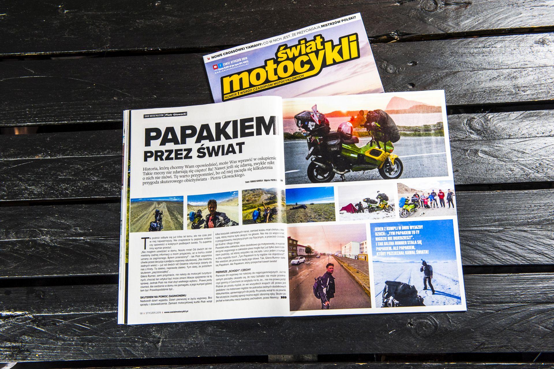 Świat Motocyklistów - Piotr Głowacki