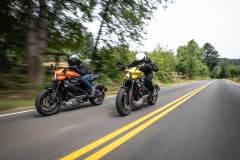 Harley-Davidson Livewire w akcji