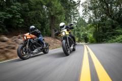 Harley-Davidson Livewire. pomarańczowy oraz żółty kolor