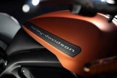 Harley-Davidson Livewire. Zbiornik paliwa