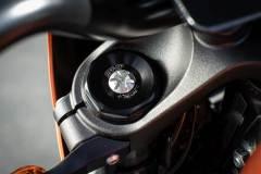 Harley-Davidson Livewire. Przednie zawieszenie