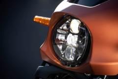 Harley-Davidson Livewire. Przednia lampa