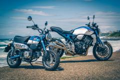 Blue Monkey and Honda Monkey 1000R