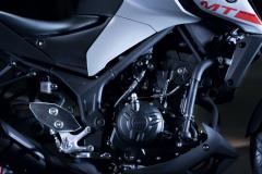 Yamaha MT-03 2020 silnik sprzęgło
