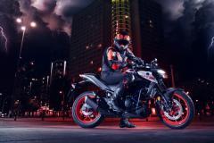 Yamaha MT-03 2020 prawy bok