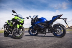 Kawasaki Ninja 400 i Yamaha R3