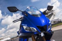 Yamaha R3 lampa przód