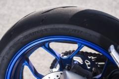 Yamaha R3 koło tył