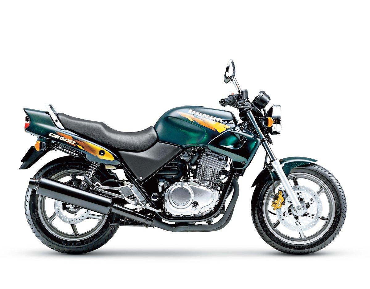 Honda Cb 500 Cebula Na Start świat Motocykli