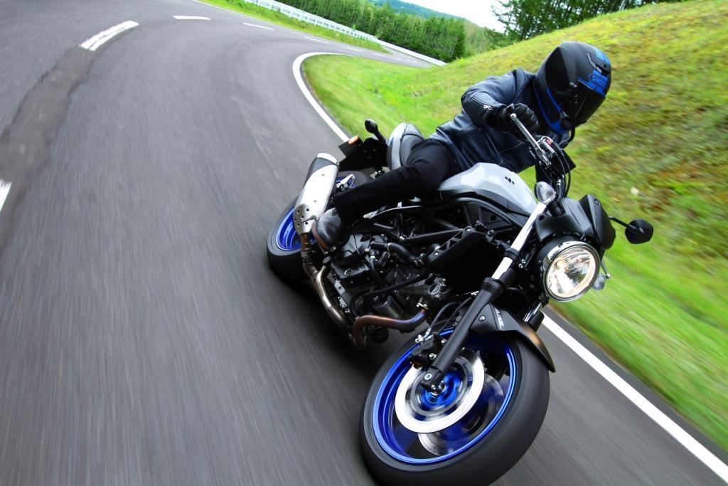 Suzuki SV650 Motocykl dla niskich osób