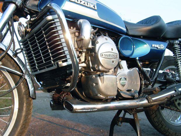 Suzuki Re5. Motocykl z silnikiem Wankla