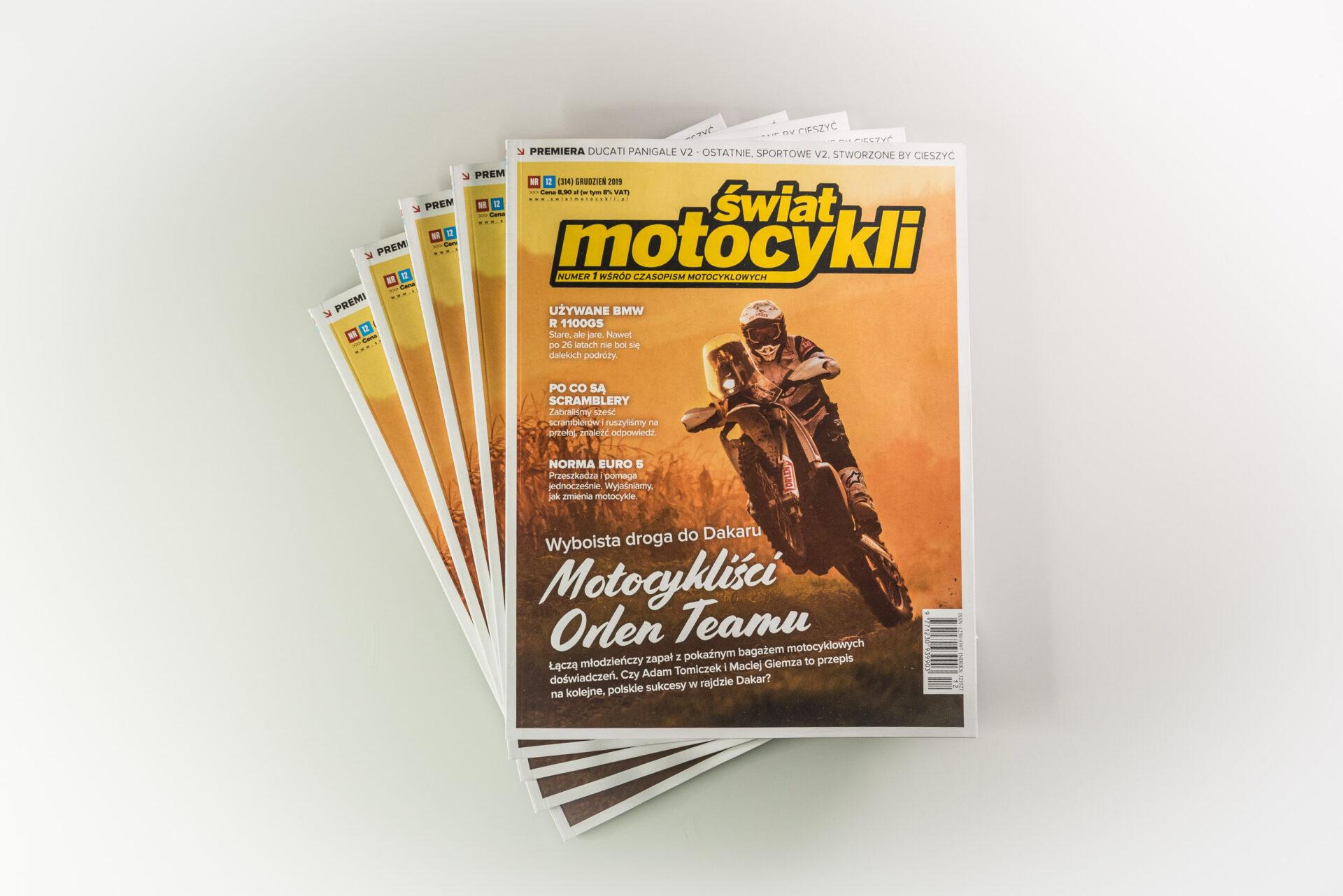 Świat motocykli - doskonały prezent na święta