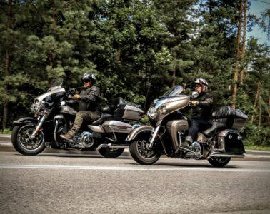 Harley-Davidson Ultra Limited vs Indian Chief Roadmaster