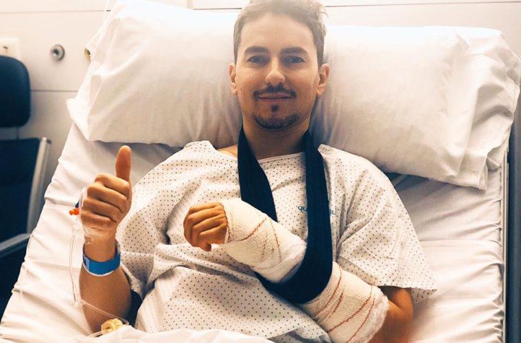 Jorge Lorenzo już operacji!