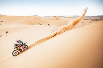 Jak jeździć po piasku - Dakar 2019