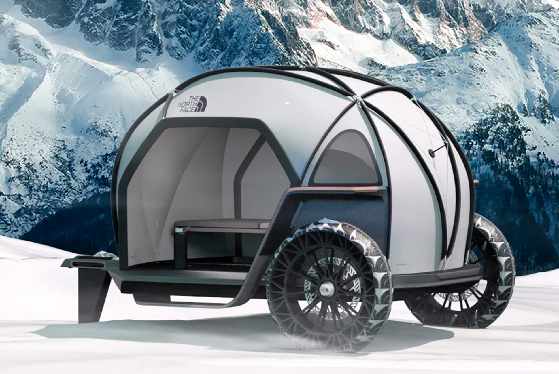 BMW and The North Face concept