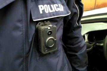 Policja testuje kamery