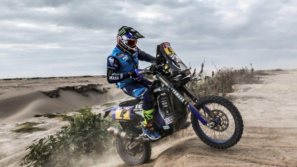Dakar-2018-Day4-Van-Beveren Yamaha