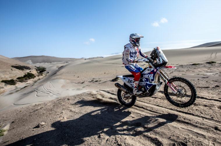 Maciek giemza odpada z Dakar Rally 2019