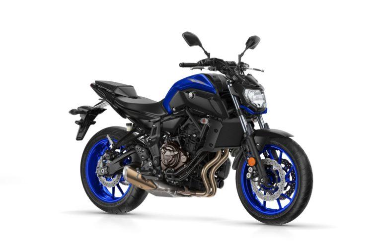 Lider sprzedaży motocykli w Polsce w 2018_Yamaha MT-07