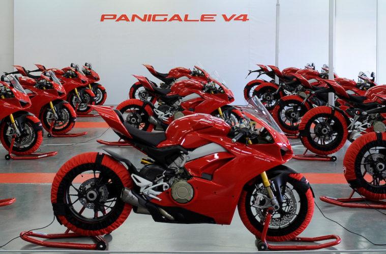 Ducati Panigale liderem sprzedaży w segmencie superbike