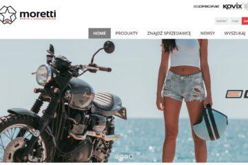 strona internetowa Moretti