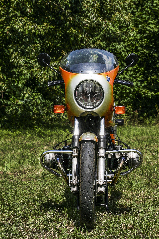 BMW R 90S Pomarańczowy sportowiec