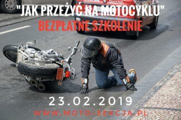 Jak przeżyć na motocyklu - bezpłatne szkolenie