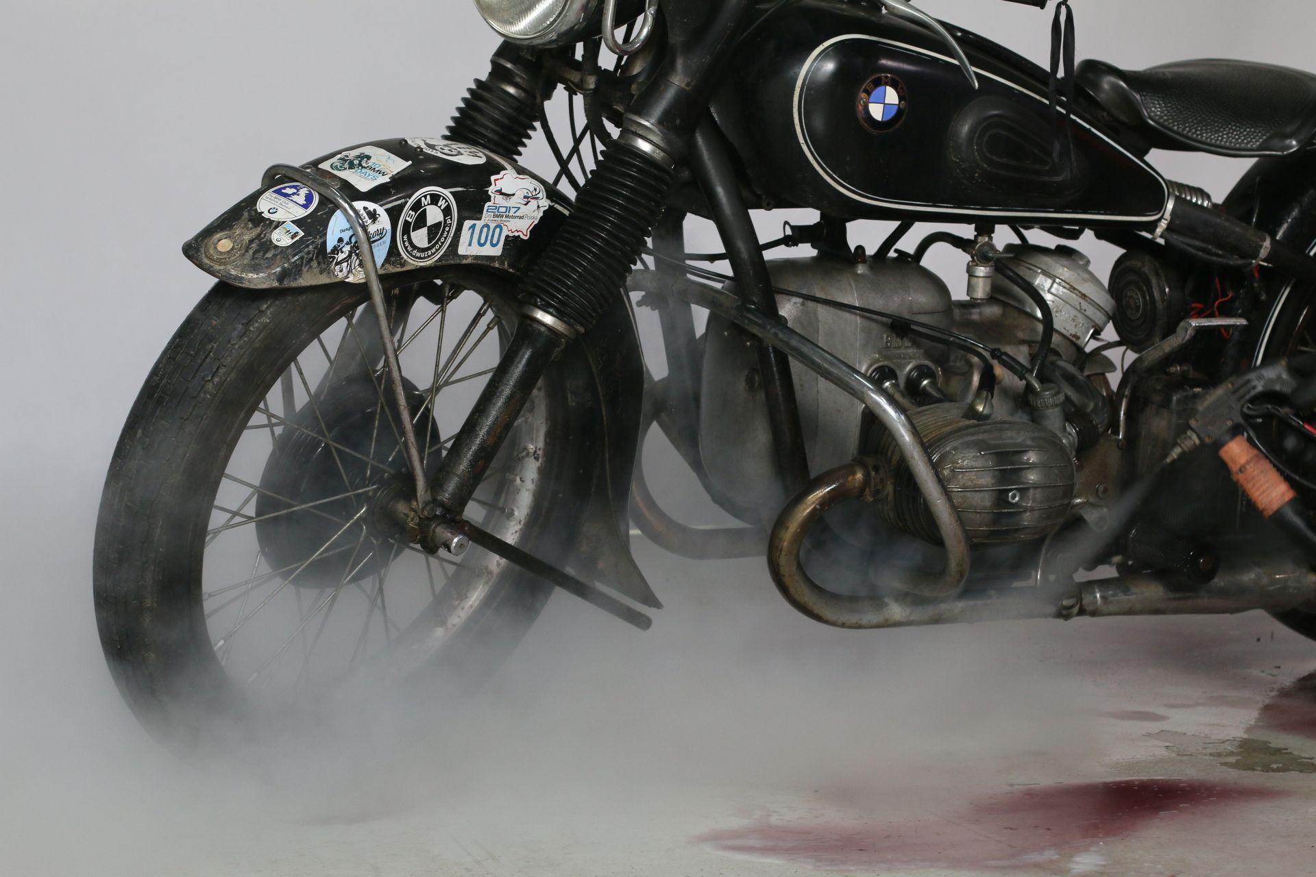 detailing motocykla
