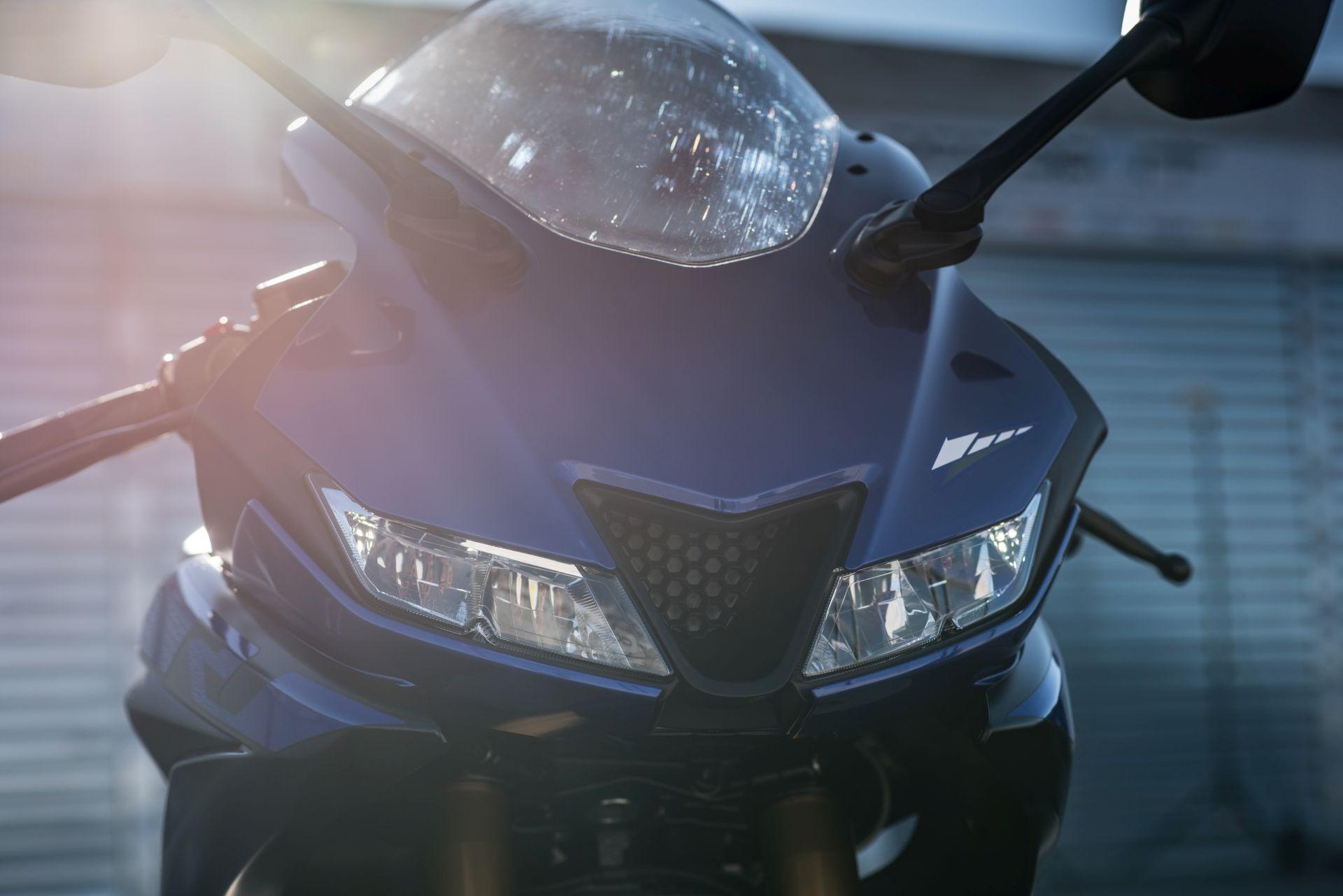 Yamaha R125, detale