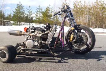 Trike KX-F 450