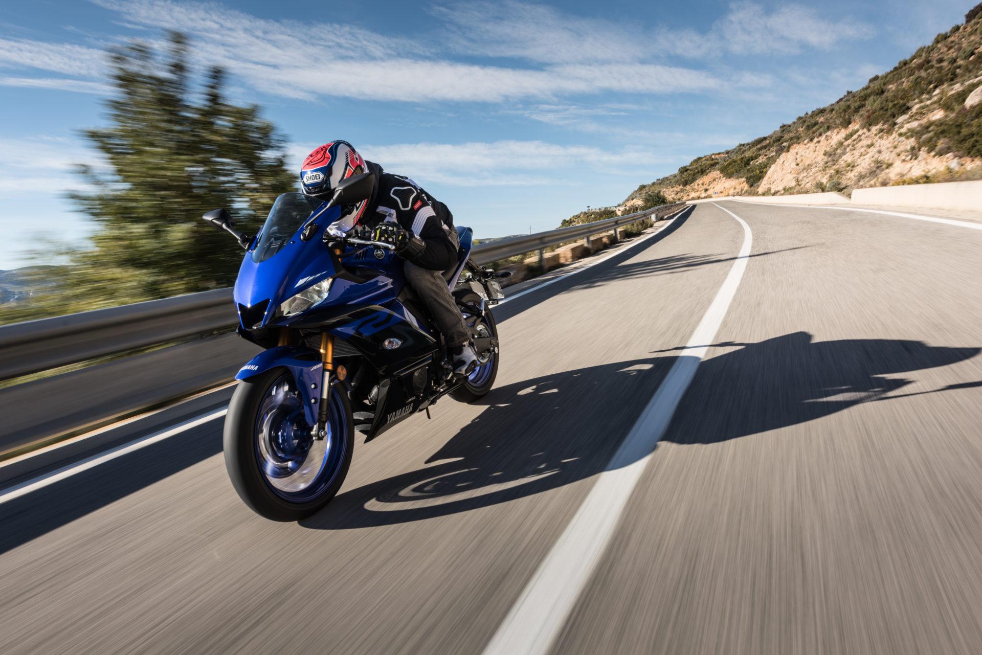 Yamaha R3 Motocykl dla niskich osób