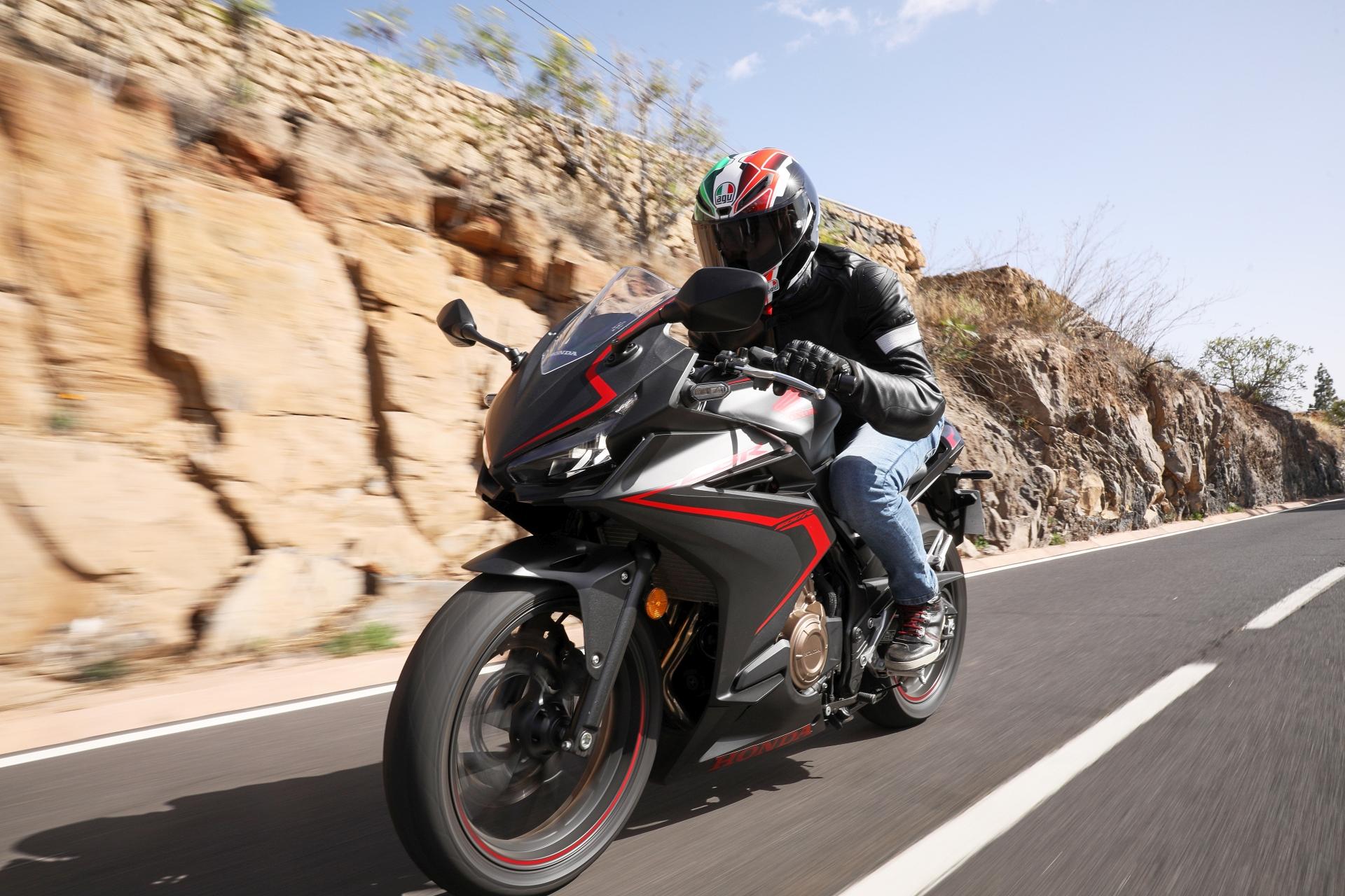Honda CBR500R Motocykl dla niskich osób