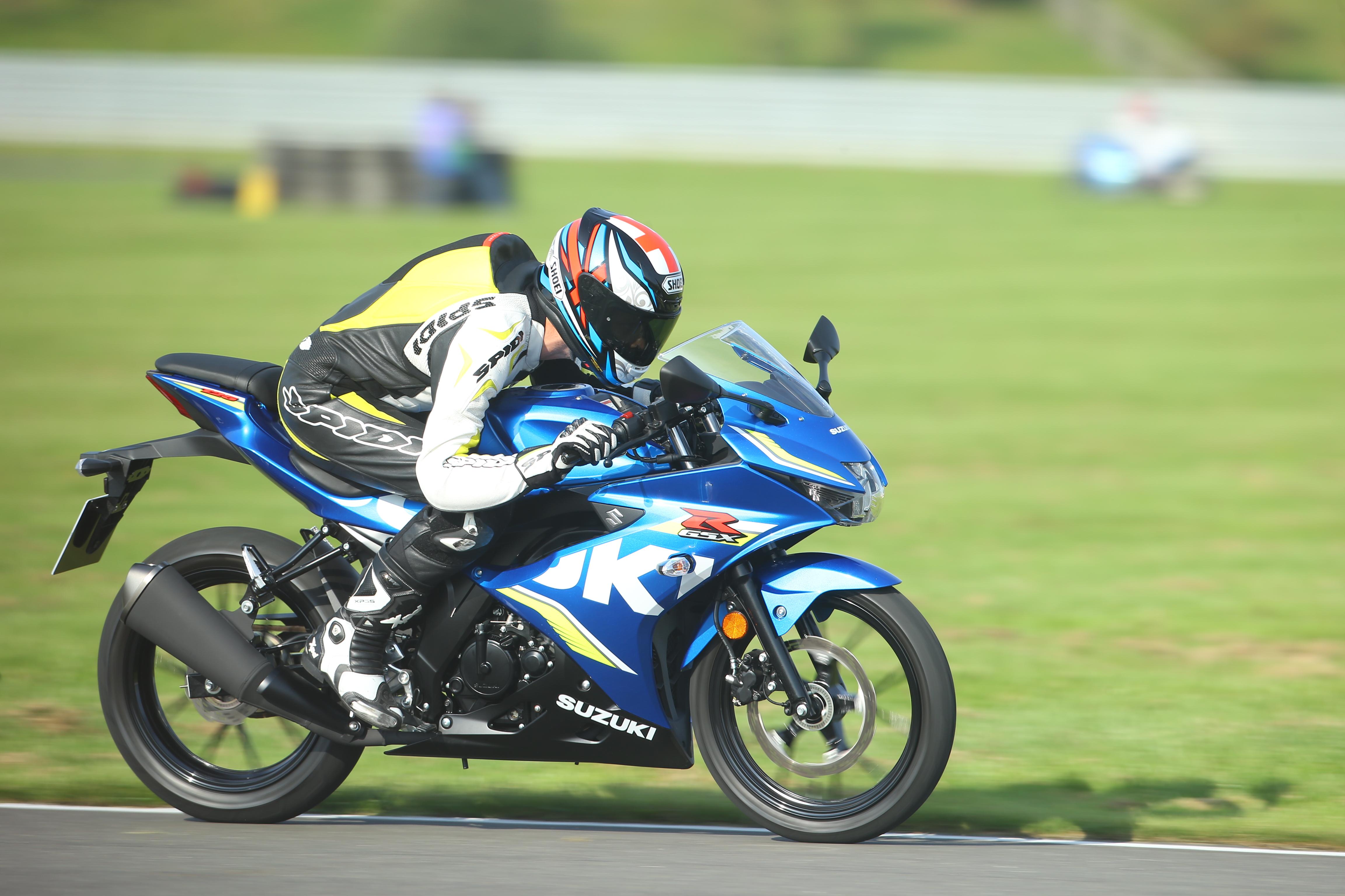 SuzukiGSXR 125 -Motocykl na początek -