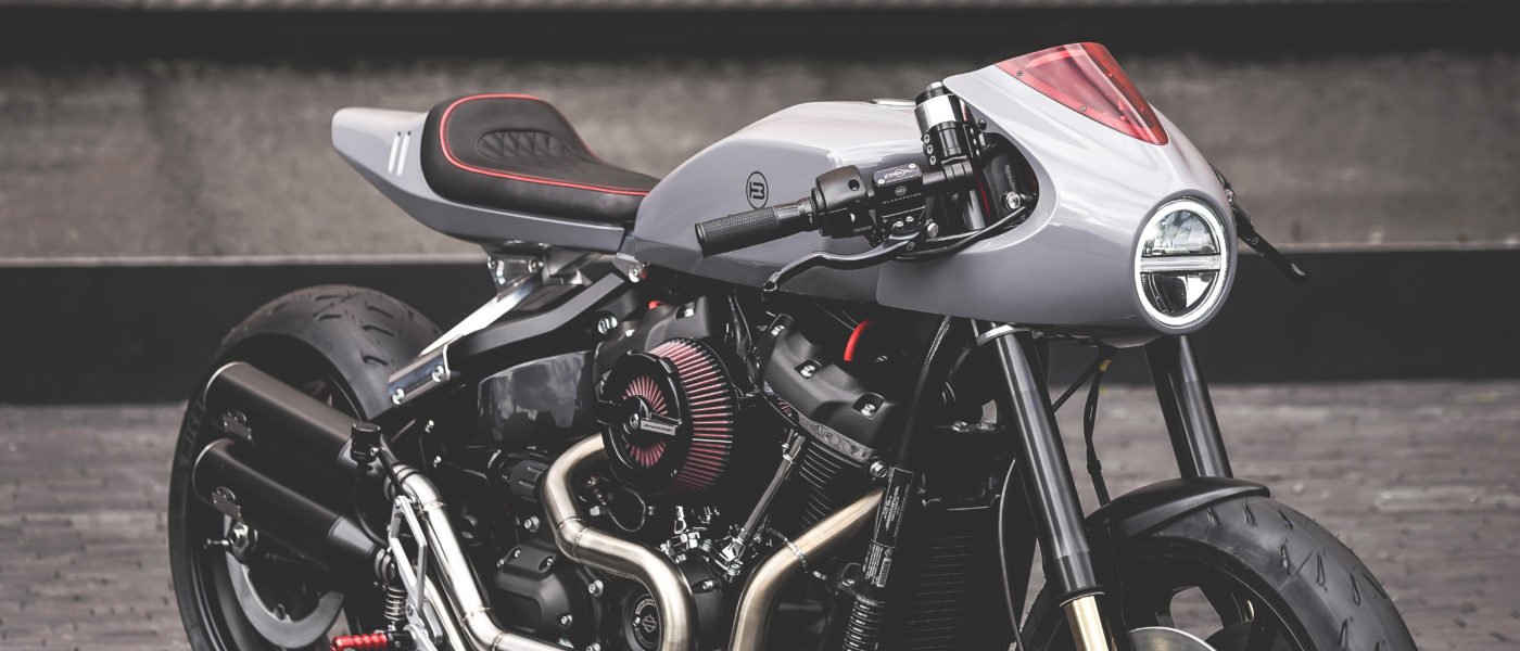 Harley-Davidson Fat Bob BT-03 Blacktrack Motors
