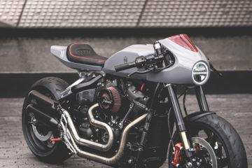 Harley-Davidson Fat Bob BT-03 Blacktrack Motors