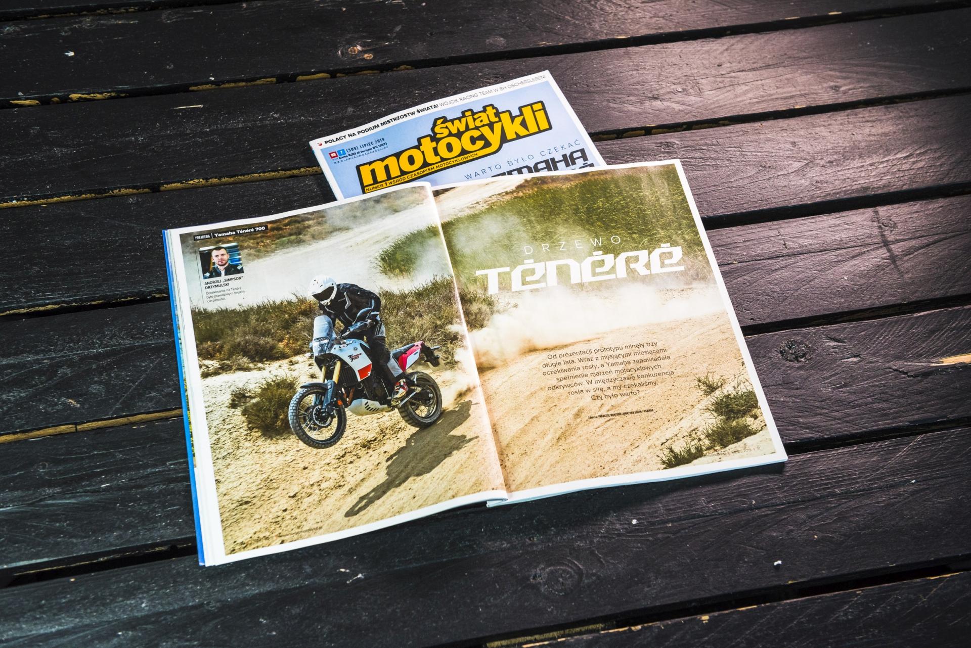 Świat Motocykli, lipiec