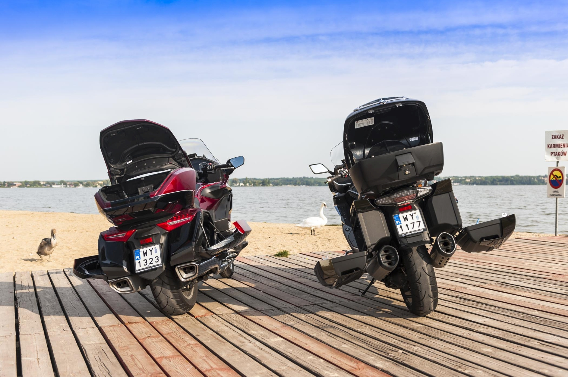 Honda GL1800 GoldWing vs BMW K 1600GTL