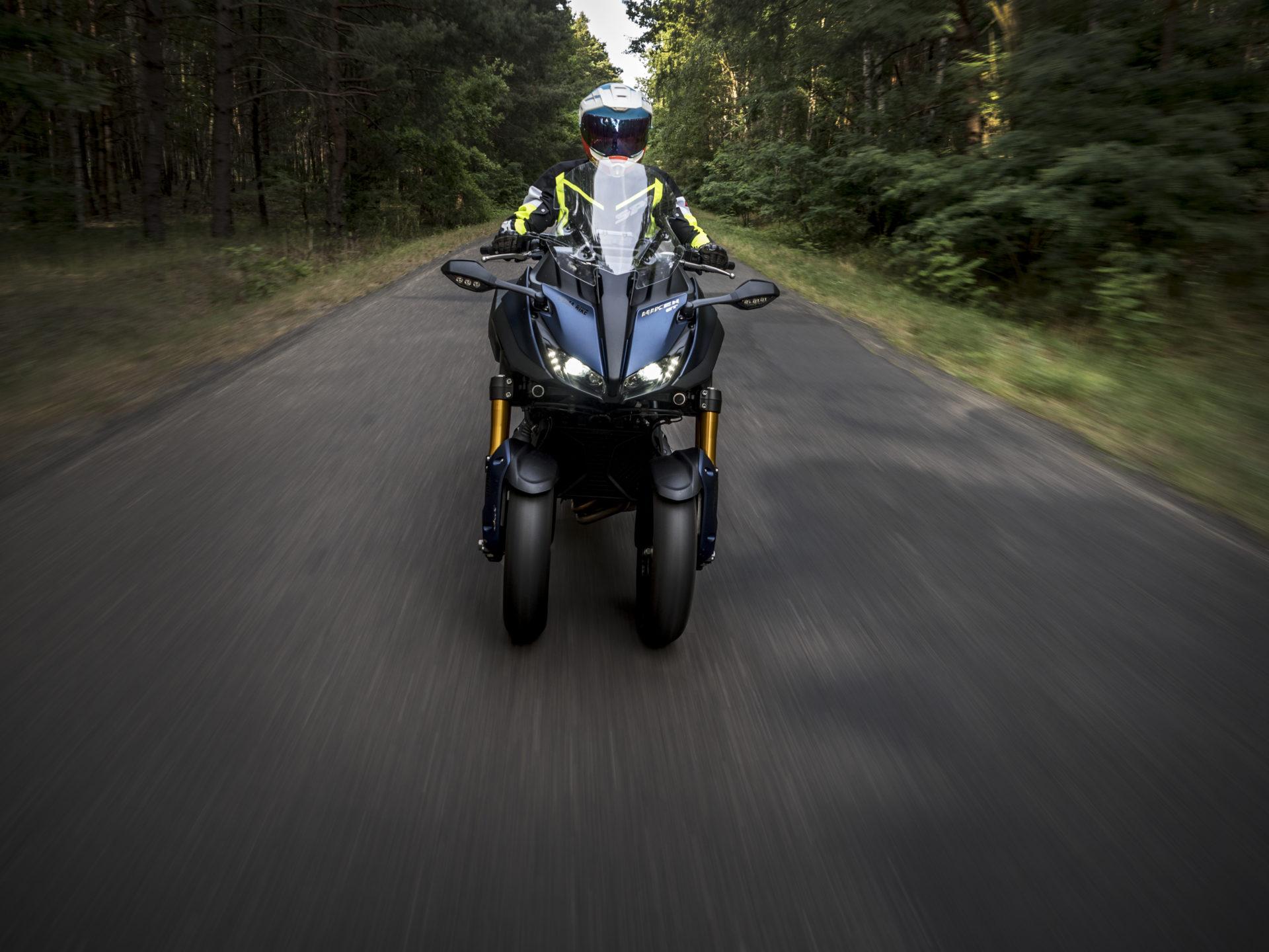 Niken GT w trasie. Foto: Tobiasz Kukieła