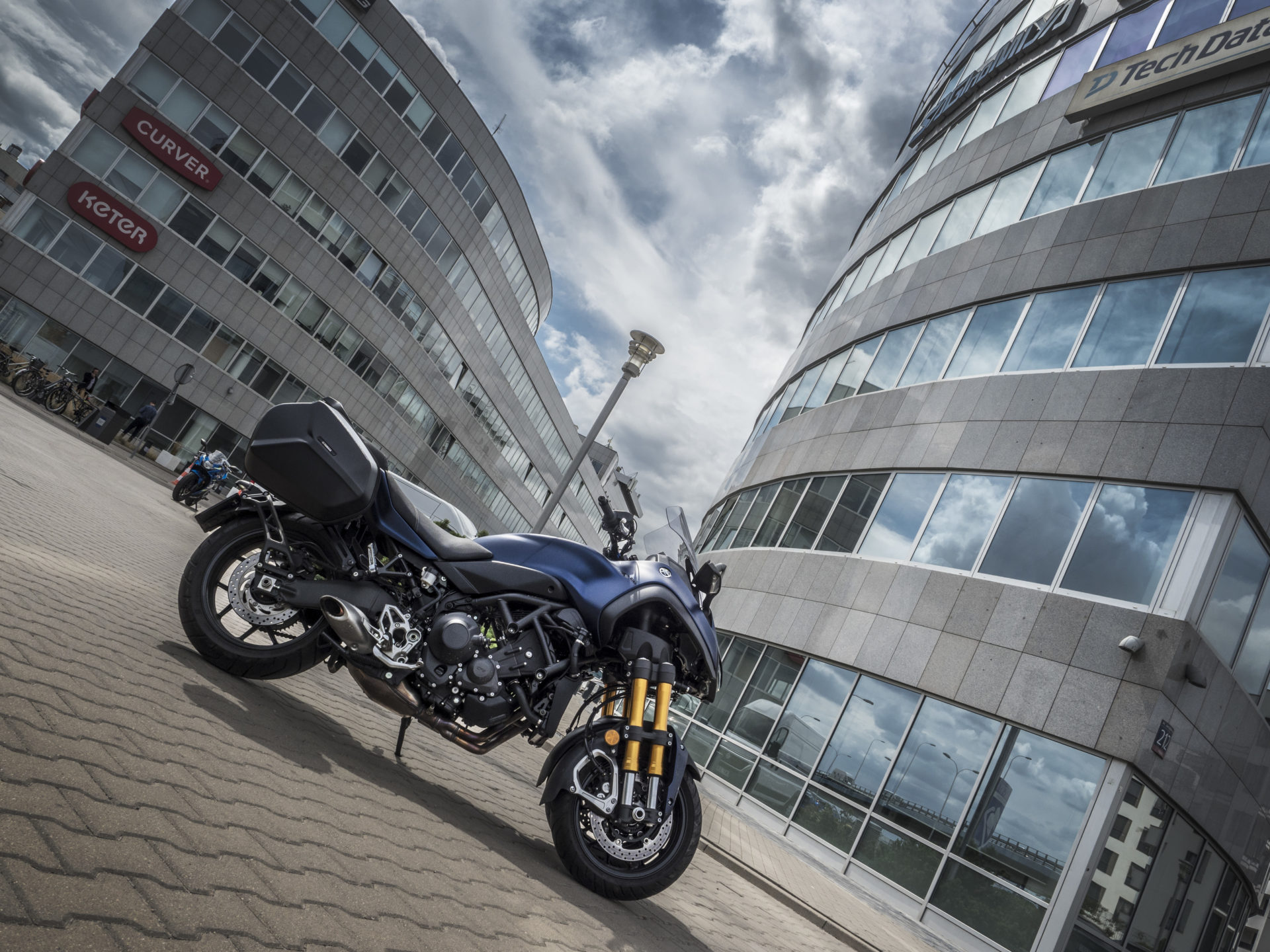 Yamaha NIken GT - foto: Tobiasz Kukieła