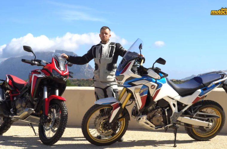 Honda Africa Twin CRF 1100L 2020 - Czy to najlepszy motocykl klasy Adventure? Test ŚM