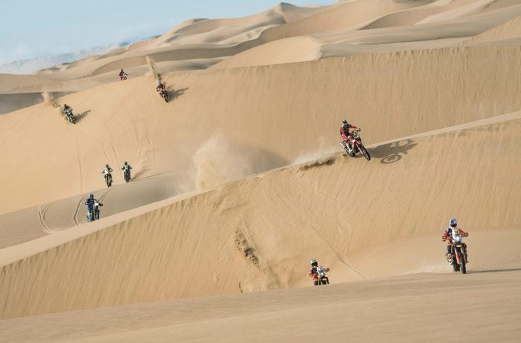 Motocykliści Rajd Dakar