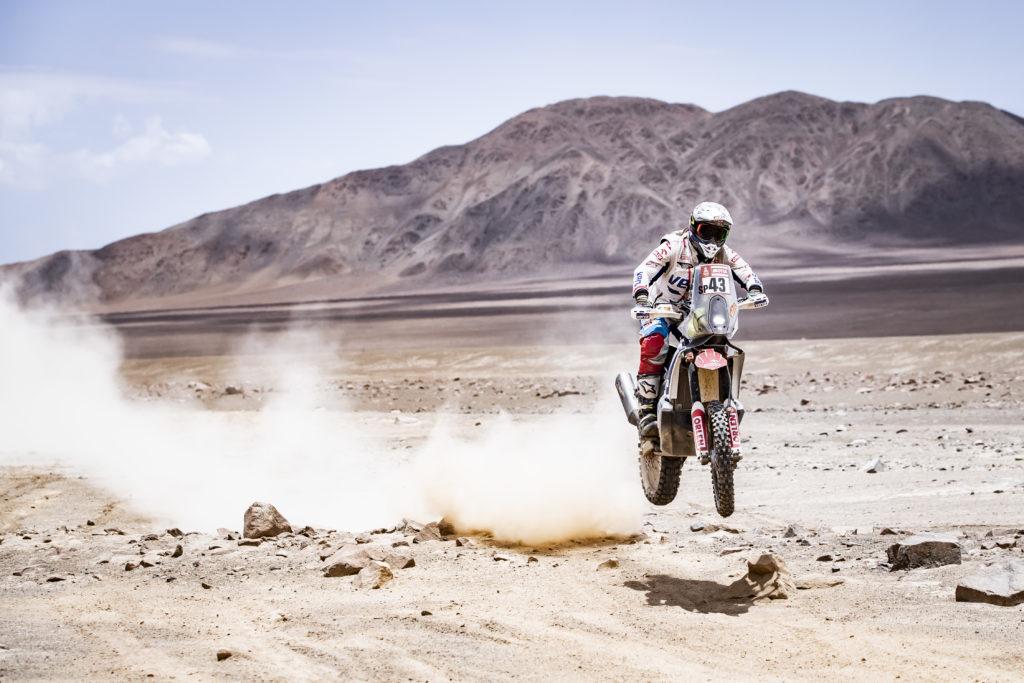 Adam Tomiczek Rajd Dakar