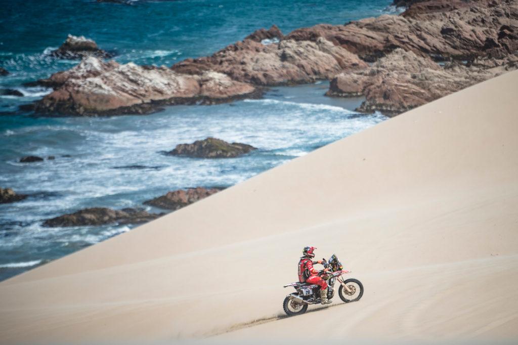 Motocyklista Rajd Dakar