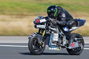 Nowe rekordy prędkości motocykli elektrycznych Nawet 300 km/h!