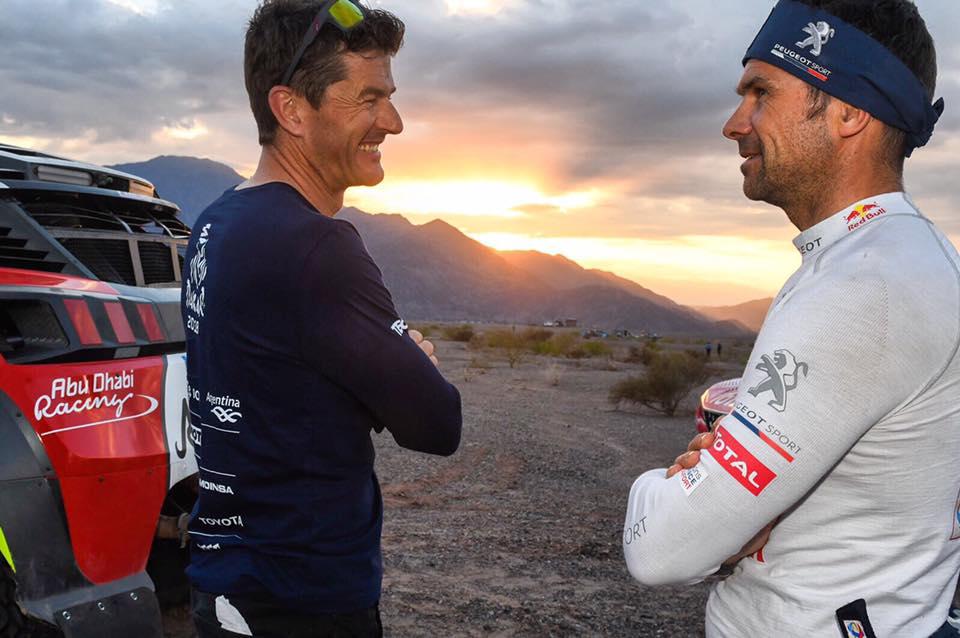 Marc Coma oraz Cyril Despres. Dakar